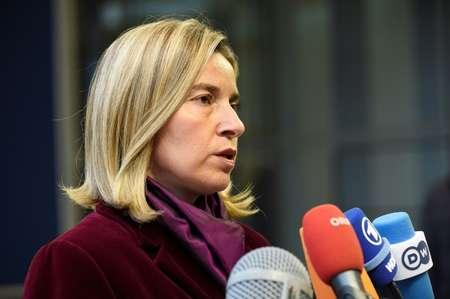 EU foreign affairs chief Federica Mogherini ( John Thys (AFP) )