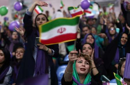 Iran's president on track for poll victory