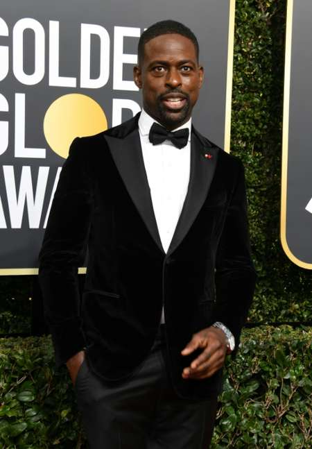 Actor Sterling K. Brown -- a Globes nominee for best actor in a TV drama for