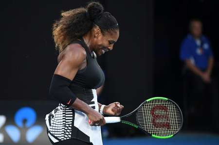 Serena Williams has not played since beating her sister Venus in the final of the Australian Open in January to clinch a record 23rd Grand Slam singles title ( WILLIAM WEST (AFP/File) )