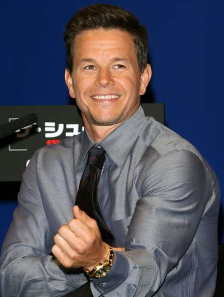 Mark Wahlberg attends a press conference for his movie 'Shooter', in Tokyo, in 2007 ( Toshifumi Kitamura (AFP/File) )
