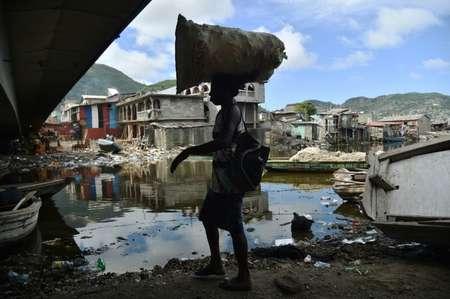 Many were unprepared for Hurricane Irma in the Haitian shantytown of Shada ( HECTOR RETAMAL (AFP) )