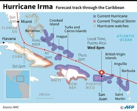 Hurricane Irma ( Laurence CHU   (AFP) )