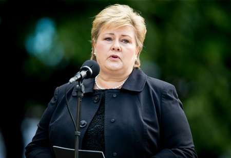 Erna Solberg, Prime Minister of Norway, July 22, 2016 in Oslo (Vegard Grott Wivestad (NTB Scanpix / AFP / File))