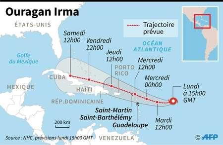 Cyclone Irma : alerte violette à Saint-Martin et Saint-Barthélémy [SYNTESE]