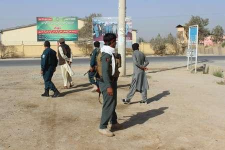 عناصر من الشرطة الافغانية