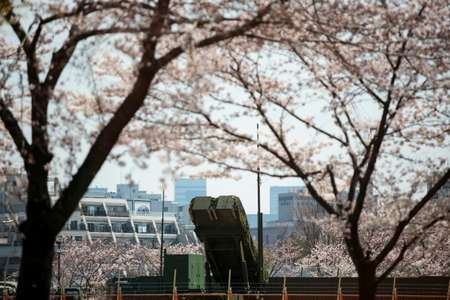 Japan has installed surface-to-air missile launcher units in Tokyo to combat the threat of a possible North Korean attack on its densely populated capital ( Behrouz MEHRI (AFP/File) )