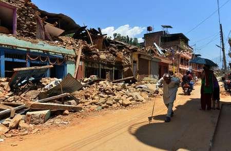 أخرى: زلزال يضرب النيبال