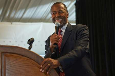 Ben Carson Gaining On Leader In GOP Presidential Polls