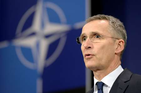 NATO chief Jens Stoltenberg has sought to dismiss concern that Trump is less committed to the 28-nation alliance than his predecessors ( THIERRY CHARLIER (AFP/File) )