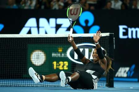 Serena Williams hasn't played since her Australian Open triumph, which saw her surpass Steffi Graf for the most Grand Slam singles titles in the Open Era ( Jack THOMAS (POOL/AFP/File) )