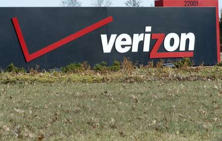 US telecoms giant Verizon has emerged as a leading contender to take over Yahoo as other big names reportedly drop out ( Paul J. Richards (AFP/File) )