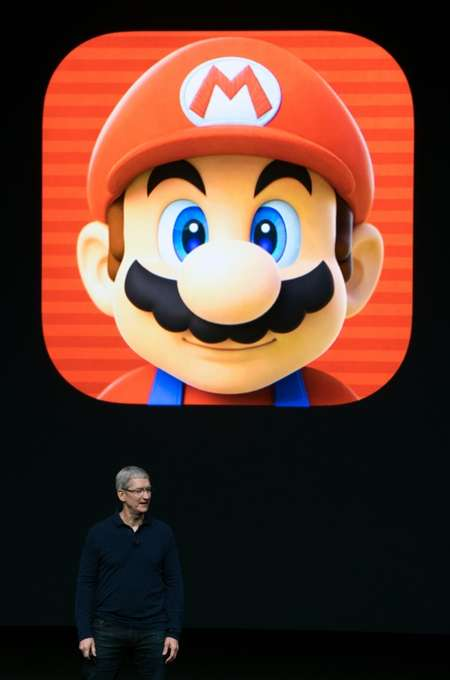Apple and Nintendo jointly announced that