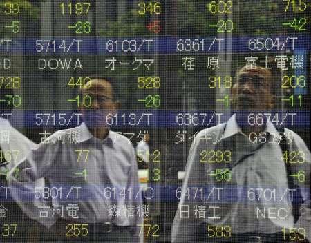 Les marchés financiers ont très mal réagi mercredi à la deuxième dévaluation en deux jours de la monnaie chinoise ( Yoshikazu Tsuno (AFP/Archives) )