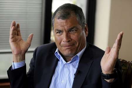 Rafael Correa, Ecuador's president for a decade from 2007, has branded current President Lenin Moreno a