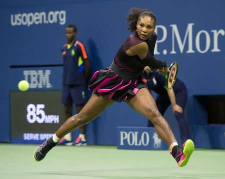 Serena Williams needed just 63 minutes to dispatch 29th-ranked Ekaterina Makarova 6-3, 6-3 ( Don Emmert (AFP) )