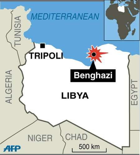 i24NEWS 10 dead after Libyan army clashes with Jihadists in Benghazi