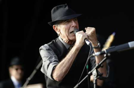 Canadian singer Leonard Cohen began as a poet before at first reluctantly branching out into music, writing some of his generation's most reflective songs ( Diego Tuson (AFP/File) )