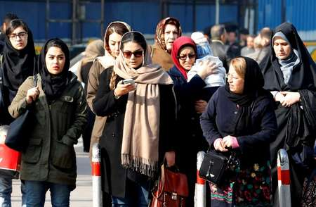 Powerful parts of Iran's establishment still see the headscarf as a crucial symbol of their revolutionary identity ( ATTA KENARE (AFP) )