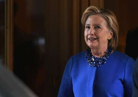 المرشحة الديموقراطية في الانتخابات الرئاسية الاميركية هيلاري كلينتون