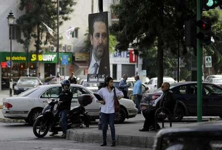 صورة لرئيس الحكومة المستقيل سعد الحريري في بيروت في 17 تشرين الثاني/نوفمبر 2017 ( جوزف عيد (ا ف ب) )