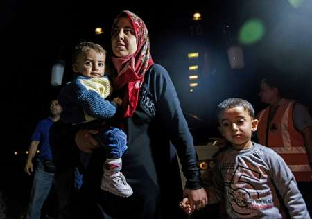 مهاجرون اغلبهم سوريون وصلوا الى قبرص