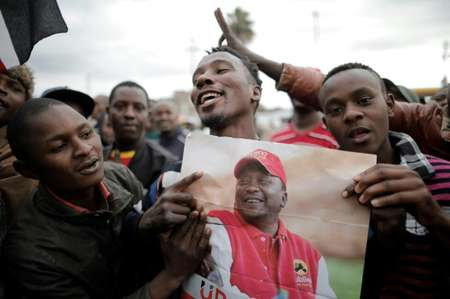 Politics in Kenya is largely divided along tribal lines, and the winner-takes-all nature of elections has long stoked communal tensions ( MARCO LONGARI (AFP) )
