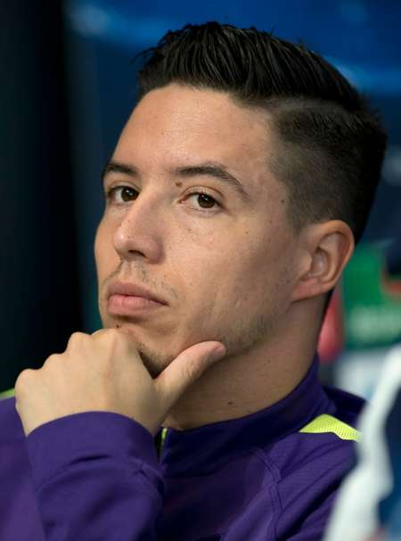French midfielder Samir Nasri has joined Europa League champions Sevilla on a season-long loan deal from Manchester City ( Oli Scarff (AFP/File) )