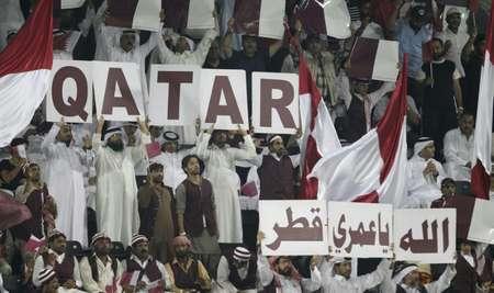 جماهير قطرية في 2012 ( كريم جعفر (اف ب/ارشيف) )