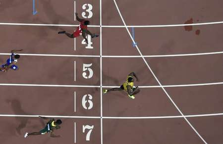 i24NEWS - Athletics: Bolt grabs 10th gold in World ...