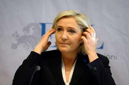 زعيمة حزب الجبهة الوطنية في فرنسا
