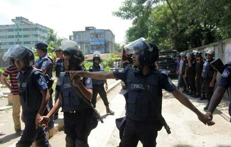 Bangladesh kills 11 members of Islamist group blamed for cafe attack