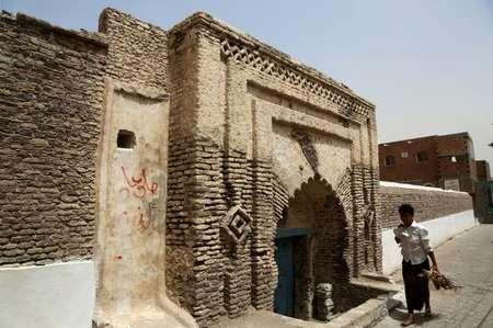 جزء من المدينة القديمة في زبيد المدرجة على لائحة اليونسكو للتراث العالمي في 24 شباط/فبراير. ( عبدو حيدر (AFP) )