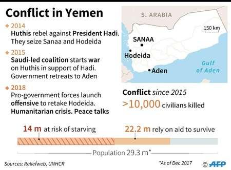 Conflict in Yemen ( Gillian HANDYSIDE (AFP) )