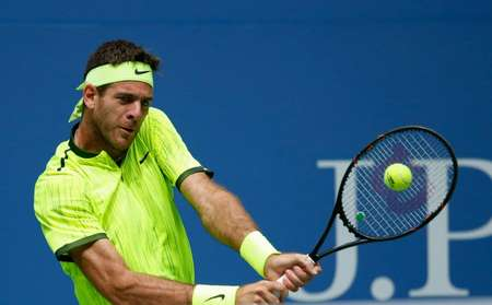 Juan Martin del Potro, the 2009 champion, is the lowest ranked player in 25 years to reach the quarter-finals ( Kena Betancur (AFP) )