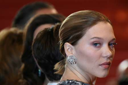 Award-winning French actress Lea Seydoux on October 11, 2017 became the latest in a string of female Hollywood stars speaking out to accuse movie mogul Harvey Weinstein of sexual harassment ( ANNE-CHRISTINE POUJOULAT             (AFP/File) )