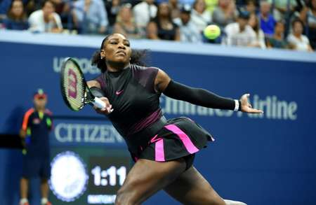 Serena Williams, le 9 septembre 2016, à New York ( Timothy A. CLARY                (AFP/Archives) )