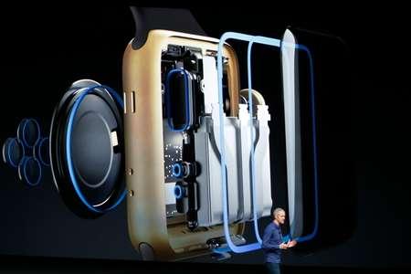 New Apple smartwatch is waterproof ( Stephen Lam (Getty/AFP) )