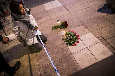 Swedish police say found 'device' in truck used in Stockholm attack