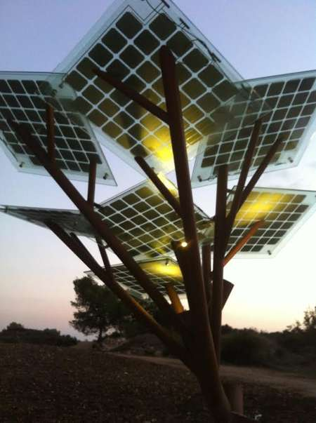 Israeli engineers fire up solar energy tree | i24news - See beyond