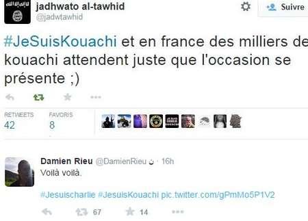 """Twitter""""""""#JeSuisKouachi"""""""