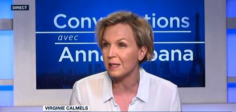"""Virginie Calmels, vice-présidente des Républicains dans """"Conversations avec Anna Cabana"""" le 23.04.2018"""