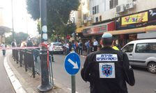 Scene of Petah Tikva stabbing attack