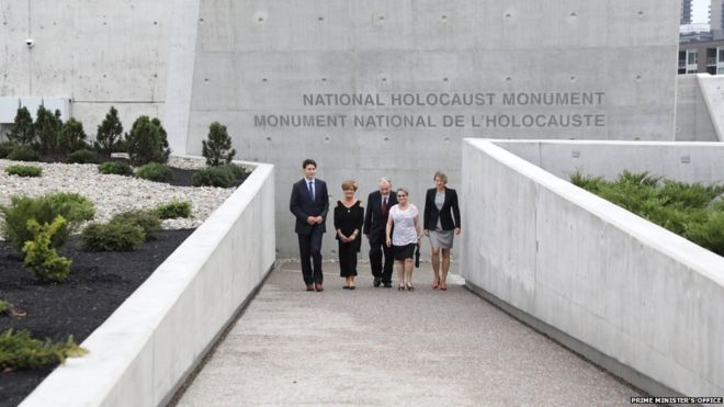 Canada neglects to mention Jews at Holocaust memorial