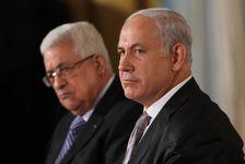Mahmoud Abbas et Benyamin Netanyahou, en septembre 2010, aux États-Unis