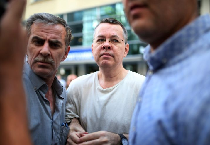 i24NEWS - US pastor back on trial in Turkey as calls grow for release