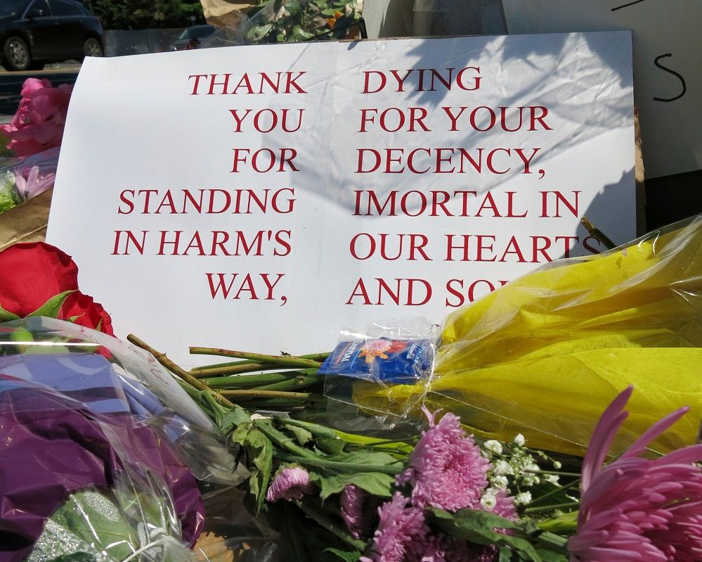 Muslims thankful for support after rant, deadly attack