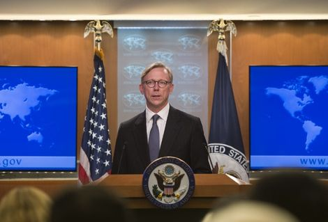 The State Department's director of policy planning and head of the Iran Action Group, Brian Hook, le 16 août 2018
