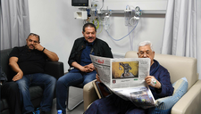 In sharp reversal, Abbas's doctor says leader will remain in hospital