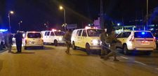 West Bank manhunt continues; Baby delivered after terror attack unstable